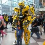 NYCC 2012 Cosplay - Bumblebee