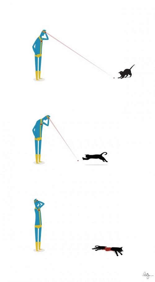 Cyclops Cat Game