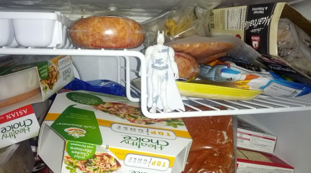 Dark Knight in Freezer