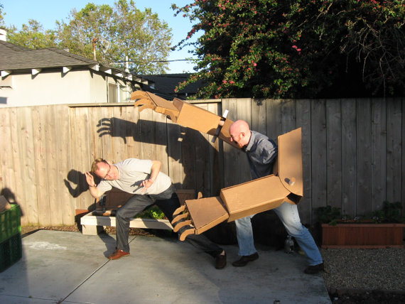 Cardboard Robot Arms