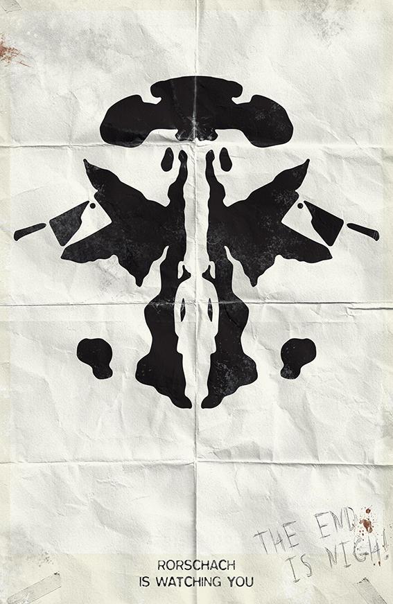 Rorschach Minimalist Poster