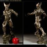 Wolverine Bronze Statue 3