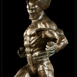 Wolverine Bronze Statue 6