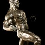 Wolverine Bronze Statue 8