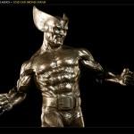 Wolverine Bronze Statue 9