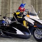 Batgirl Bodypaint Cosplay 3