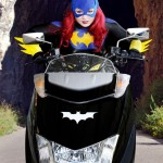 Batgirl Bodypaint Cosplay 4