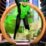 Green Lantern Bodypaint Cosplay