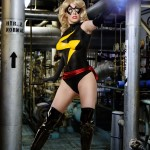 Ms. Marvel Bodypaint Cosplay