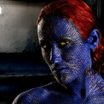 Mystique Bodypaint Cosplay 2