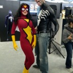 Spider-Woman and Venom Cosplay