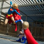 Supergirl and Powergirl Cosplay