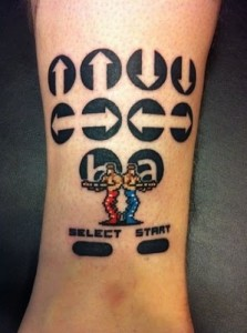 Video Game Tattoo