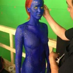 Jennifer Lawrence Mystique Behind the Scenes
