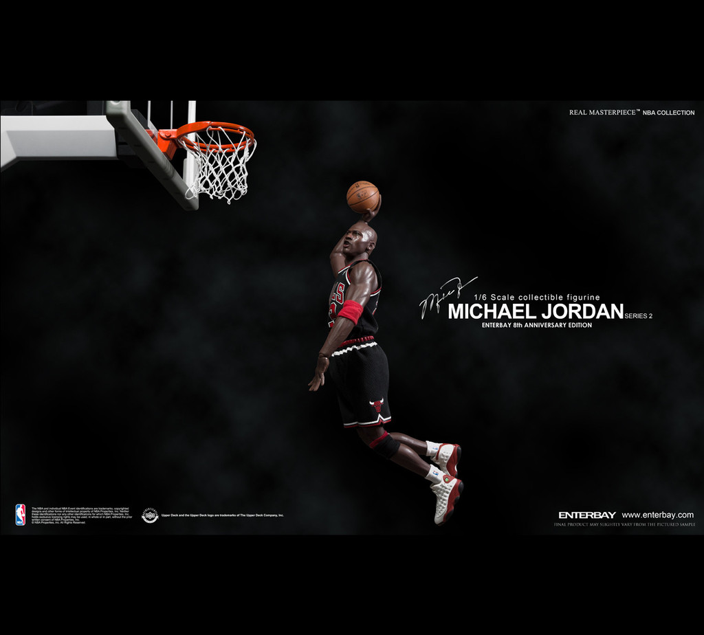 3ed5c25419f2 NYCC Spotlight - Enterbay Michael Jordan Figures - King Of All Geeks