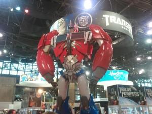 NYCC 2011 Cosplay - Optimus Prime