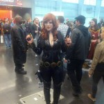 NYCC 2012 Cosplay - Black Widow