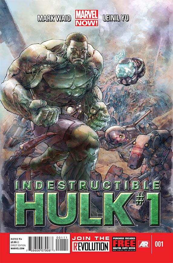 Indestructible Hulk #1 Cover