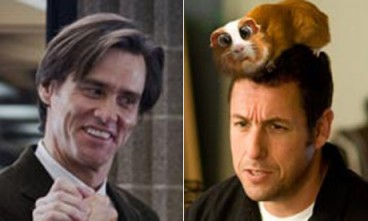 Jim Carrey or Adam Sandler as Rocket Raccoon