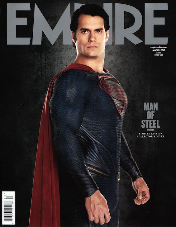New Man of Steel Promo From Empire Magazine