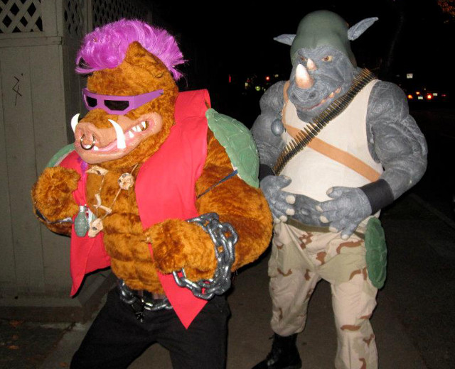 TMNT Bebop and Rocksteady Cosplay