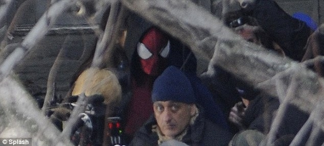 Amazing Spider-Man 2 Set Photos - 6