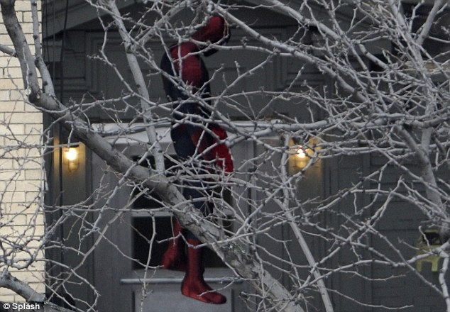 Amazing Spider-Man 2 Set Photos - 7