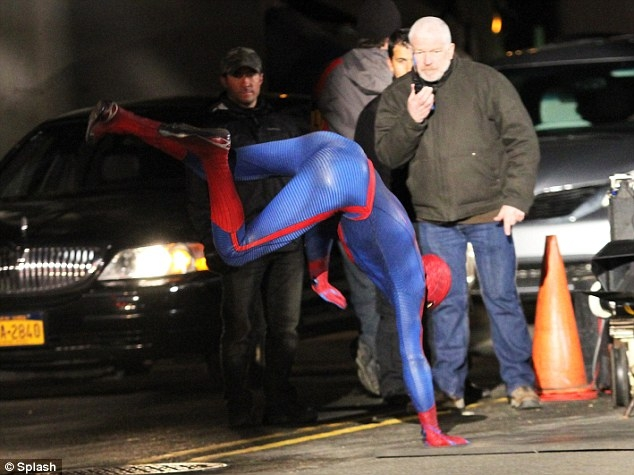 Amazing Spider-Man 2 Set Photos - 9