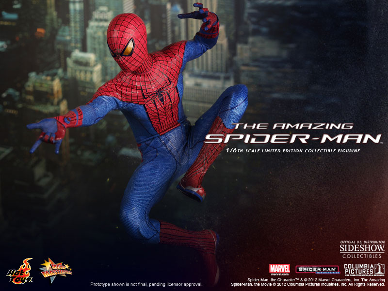 The Amazing Spider-Man Figure by Sideshow Collectibles & Hot Toys