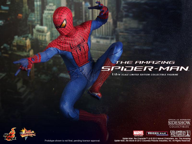 Amazing Spider-Man Hot Toys