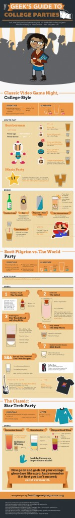 Drinking Games for Geeks