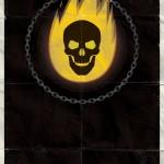 Marvel Minimalist Poster - Ghostrider