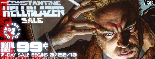 John Constantine Hellblazer Sale at Comixology