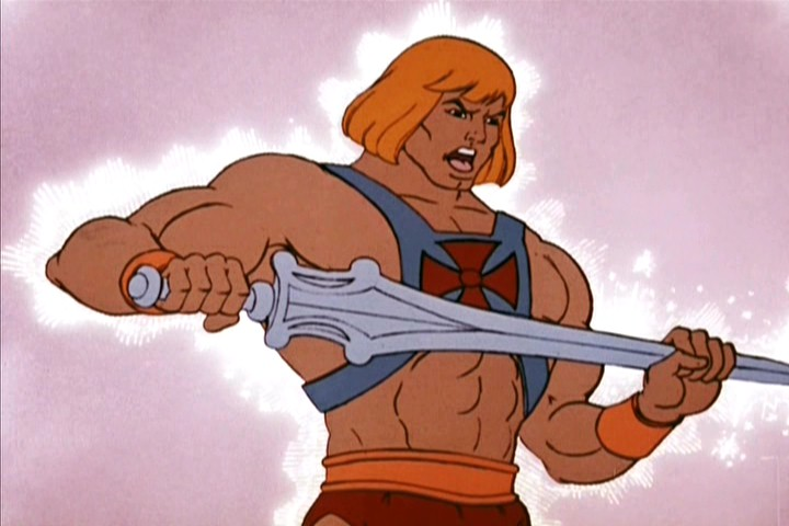 Real Life He-Man Power Sword