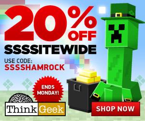 ThinkGeek 20% Off Coupon
