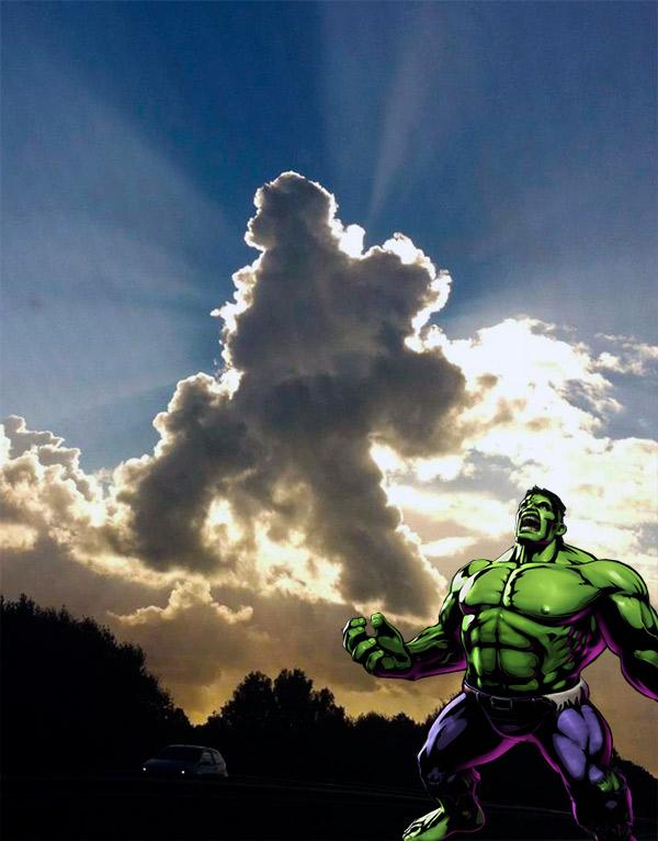 Incredible Hulk Cloud
