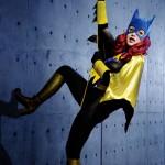 Batgirl Bodypaint Cosplay 2