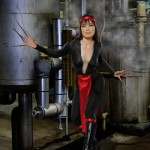 Lady Deathstrike Bodypaint Cosplay