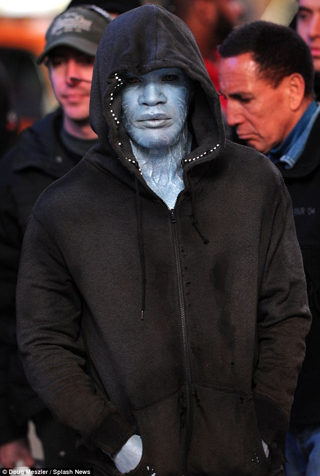 Jamie Foxx as Electro in The Amazing Spider-Man 2 - 1