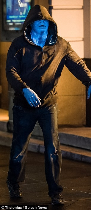 Jamie Foxx as Electro in The Amazing Spider-Man 2 - 3
