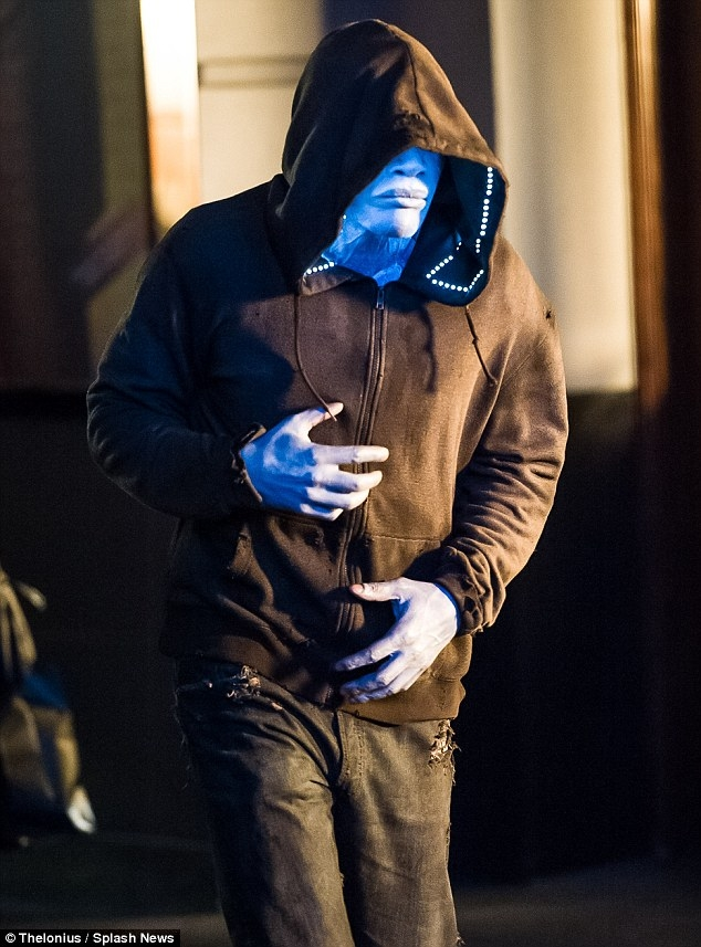 Jamie Foxx as Electro in The Amazing Spider-Man 2 - 5