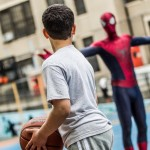 Spider-Man Basketball Behind the Scenes