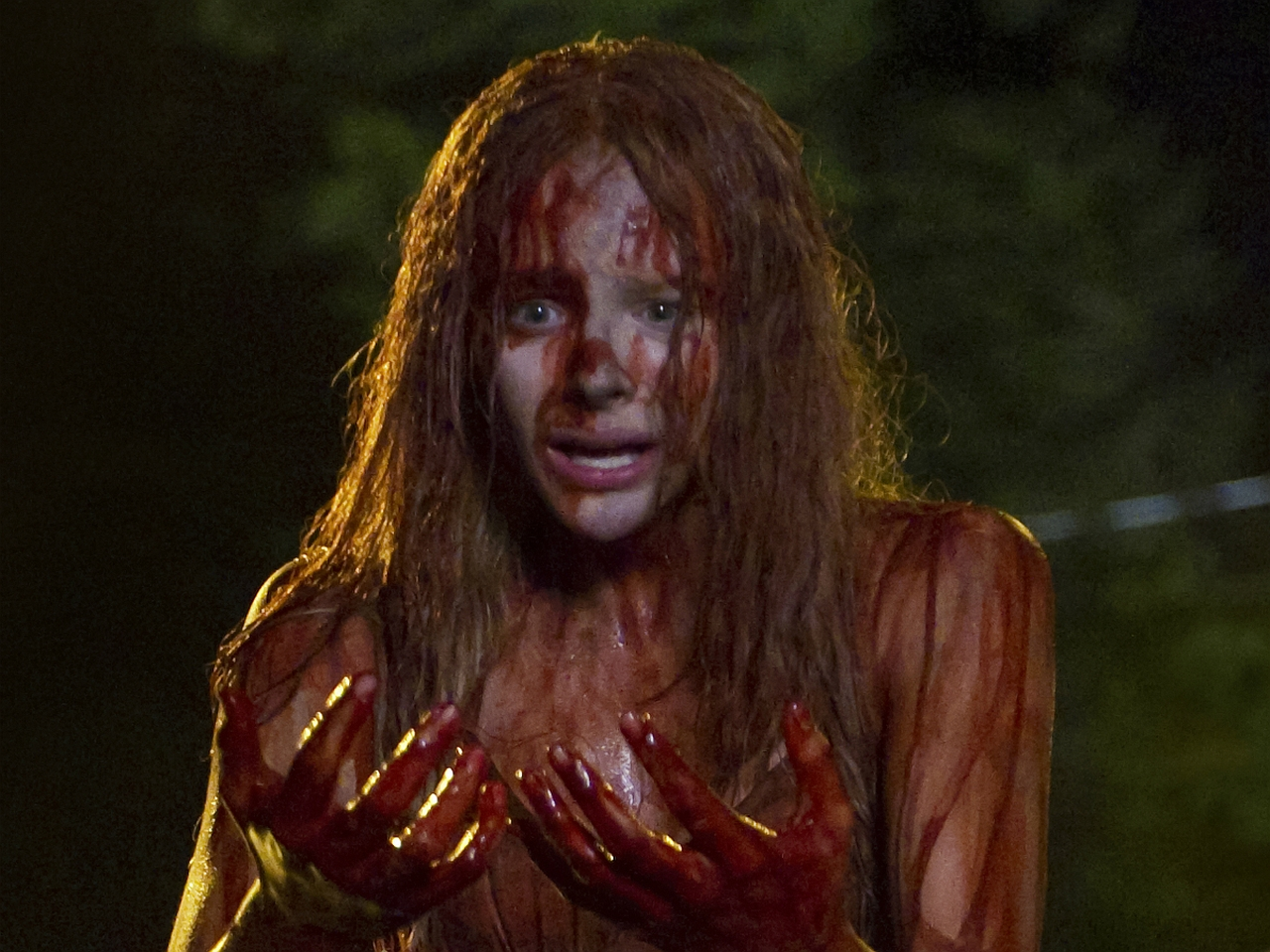 Viral Advertising For CARRIE Looks Better Than The Movie