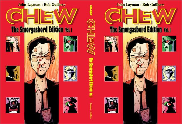 NYCC Exclusive – CHEW Smorgasbord Edition